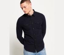 Rookie Langarmhemd marineblau