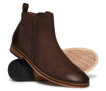 Trenton Stiefel mit Reißverschluss braun
