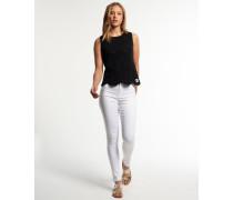 Sophia High Waist Super Skinny Jeans weiß