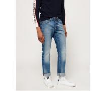 Straight Jeans blau