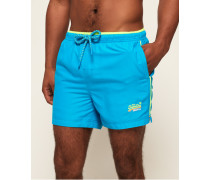 Beach Volley Badeshorts blau