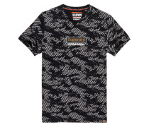 Schwarz-weißes International T-Shirt schwarz