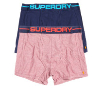Sport Boxershorts im Doppelpack rot