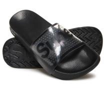 Jelly Pool Slider Sandalen mit Perforierung