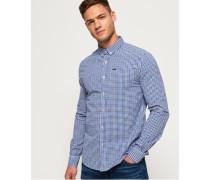 Ultimate University Oxford Hemd blau