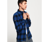 Engineered Rookie Hemd blau