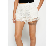 Lace Shorts weiß
