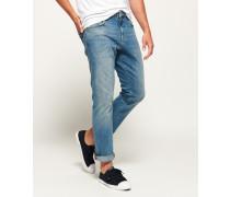 Gerade geschnittene Damon Jeans blau