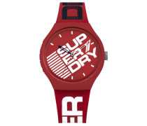 Urban Street Armbanduhr rot