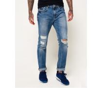 Slim Jeans blau