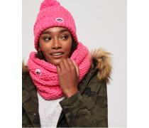 Clarrie Stitch Snood pink