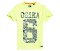 Osaka Hibiscus Infill T-Shirt gelb