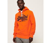 Vintage Logo Hoodie orange