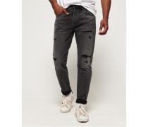 Conor Jeans mit konischem Beinschnitt schwarz