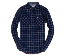 Grindlesawn Langarmhemd blau