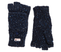 Clarrie Handschuhe mit Ziernaht marineblau