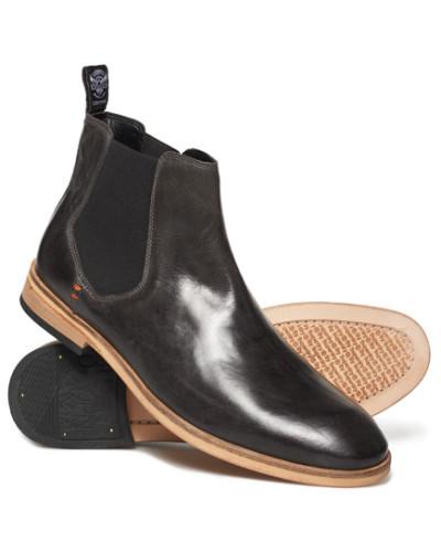 Premium Meteora Chelsea Stiefel dunkelgrau