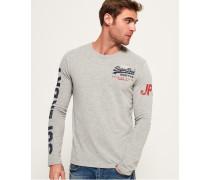 Premium Goods Langarm-T-Shirt hellgrau