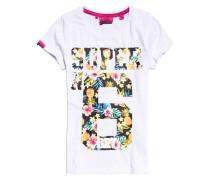 Super No.6 T-Shirt weiß