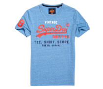 Shirt Shop Tri T-Shirt blau
