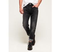 Conor Jeans mit konischem Beinschnitt dunkelgrau