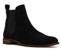 Millie-Lou Chelsea-Stiefel aus Wildleder schwarz