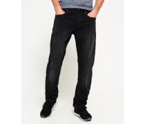 Loose Jeans schwarz