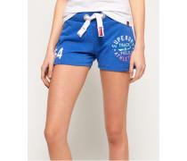 Leichte Track & Field Shorts hellblau