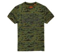 Shirt Shop T-Shirt mit Tarnmuster grün
