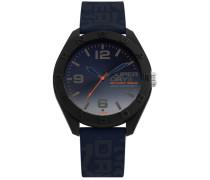 Osaka Camo Armbanduhr blau