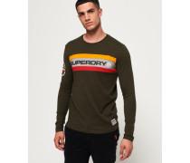 Trophy Langarm-T-Shirt grün