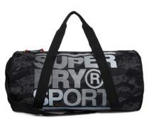 Sports Barrel-Tasche schwarz