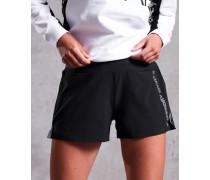 Locker geschnittene Active Shorts schwarz