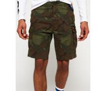Core Lite Parachute Shorts grün