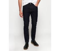 Schmal geschnittene Premium Tyler Jeans blau