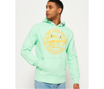 World Wide Ticket Type Hoodie grün