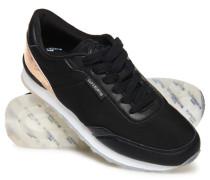 Track Runner Sneaker schwarz