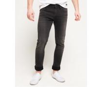 Slim Jeans schwarz