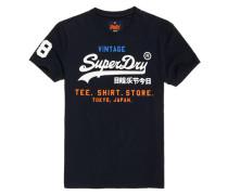 Shirt Shop Tri T-Shirt marineblau