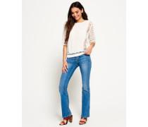 Zadie Kick Flare Jeans blau