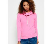 Funnel Hoodie pink
