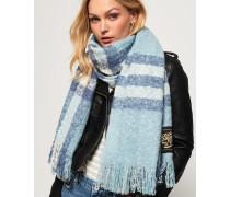Super Orkney Schal blau