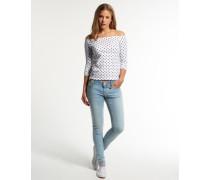 Cassie Skinny Jeans hellblau