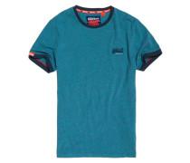 Cali Ringer T-Shirt blau