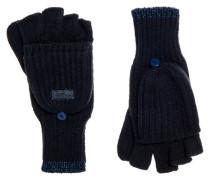 Fingerlose Ollie Handschuhe marineblau