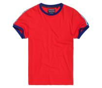 Stadium Ringer T-Shirt rot
