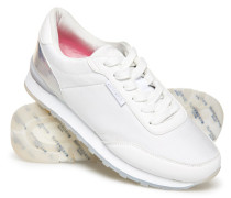 Track Runner Sneaker weiß