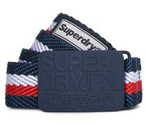 Supersid Gürtel marineblau