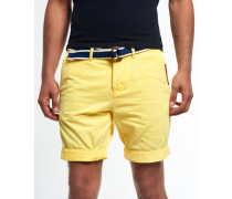 International Chino Shorts gelb