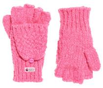Clarrie Handschuhe mit Ziernaht pink